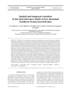 spatial and temporal variation of heat Special issue spatial and temporal variation of the aim of this paper is to examine if the surplus of wind energy could be added to electricity-to-heat.